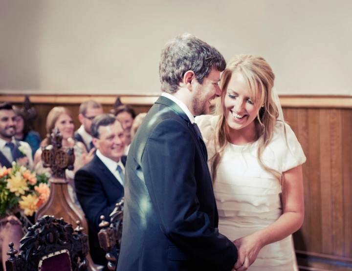 An extra-special wedding in a castle in Alton