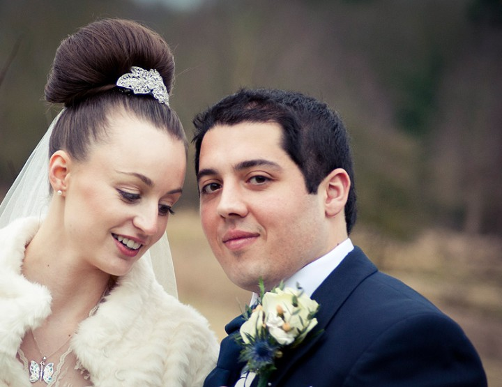 A winter wedding in Saffron Walden