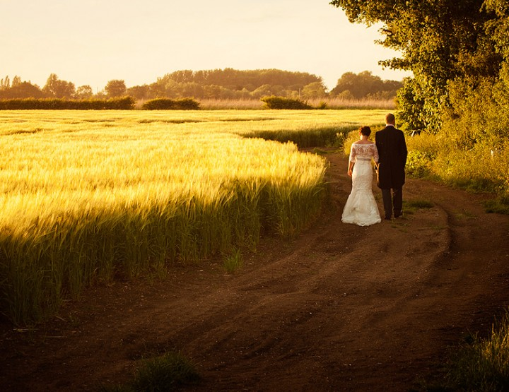 A family farm wedding, Peterborough